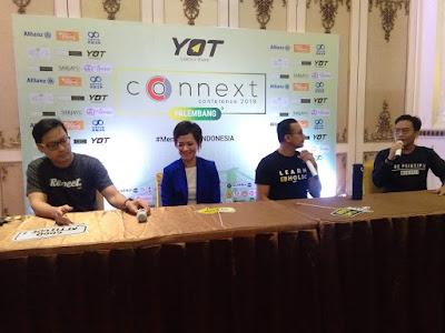 Connext Conference Berikan Inspirasi Kepada Anak Muda Palembang
