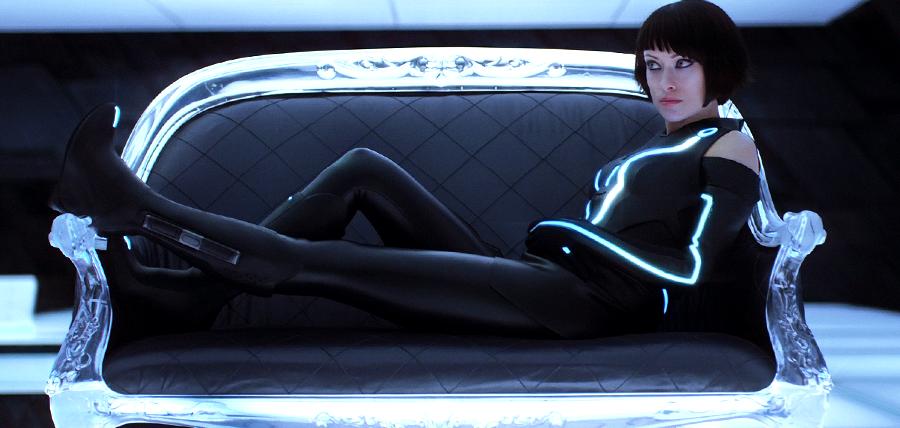 Olivia Wilde în Tron: Legacy
