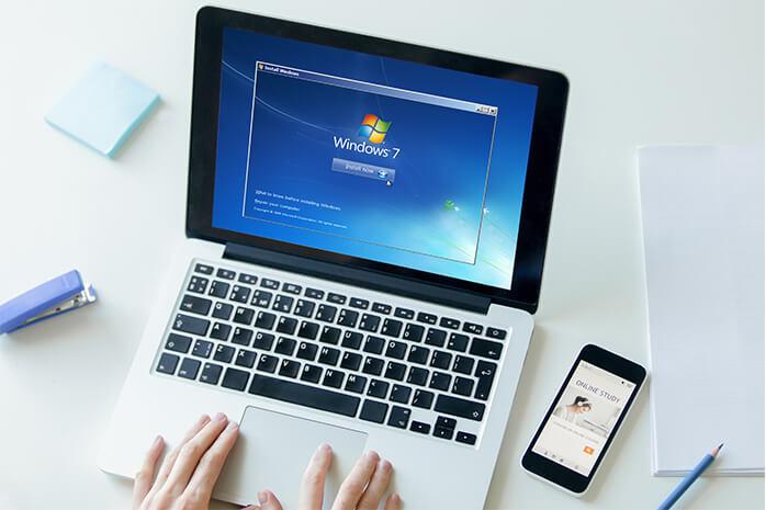 Cara Instal Windows 7 dengan Flashdisk Lengkap Beserta Gambar