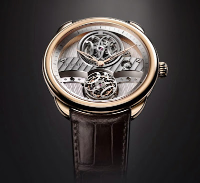 HERMÈS Arceau Lift - The First Hermès Flying Tourbillon Watch