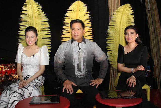 Himigration officers composed of Lani Misalucha, Martin Nievera and Toni Gonzaga