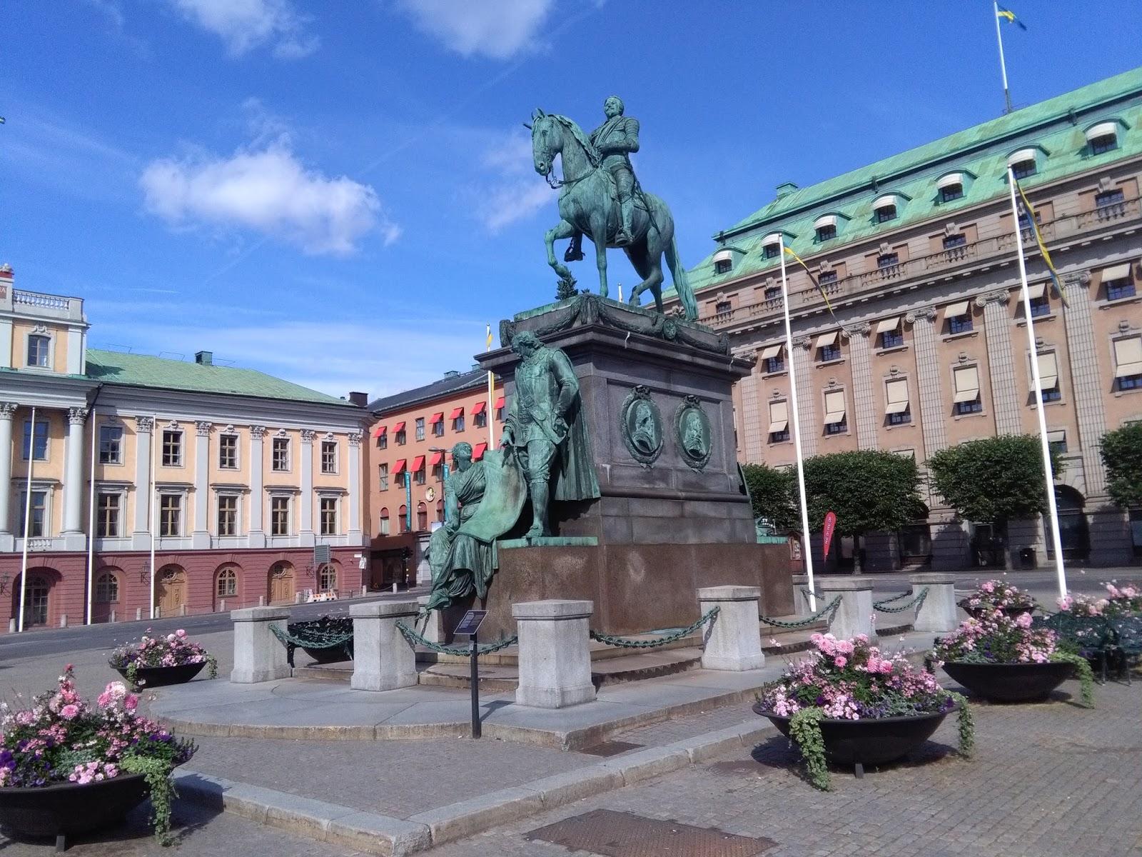 estocolmo norrmaln el centro de la ciudad