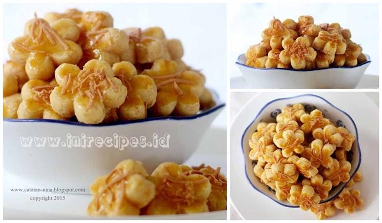 Resep Kastengel Bunga Full Butter Ekonomis Yang Renyah dan Gurih