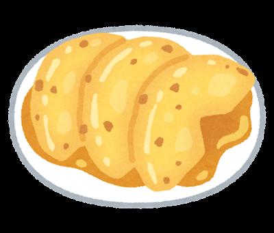 焼きリンゴのイラスト