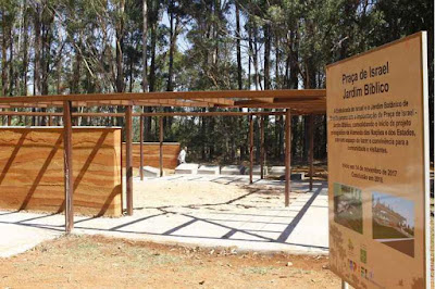 Jardim contará a história de Israel por meio de referências bíblicas