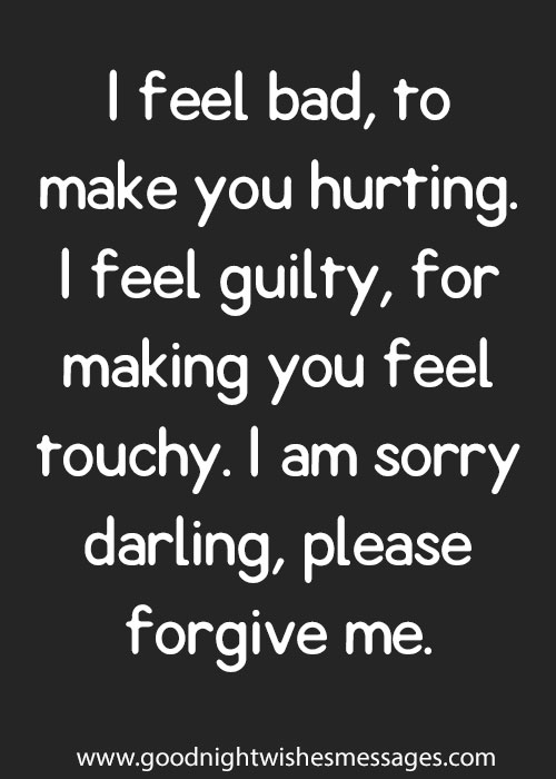 Sorry Messages for Boyfriend | Sorry Quotes for Him - Cute