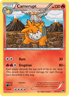 Camerupt BREAKpoint Pokemon Card