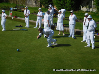 Young person bowling
