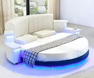 Modern-rundbett-mit-led-unterbauleuchte-in-weiß-modern-Design