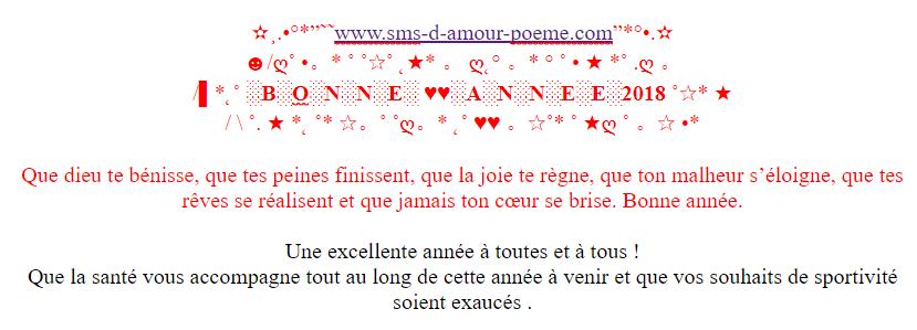 Messages Bonne Année 2018 Je Taime Mot Damour