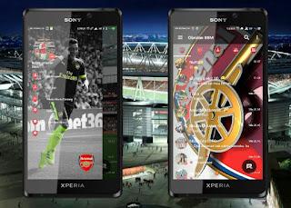 BBM MOD Arsenal FC Base v3.1.0.13 APK Terbaru 2016