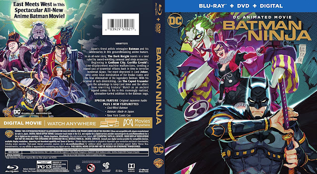 Batman Ninja Bluray Cover