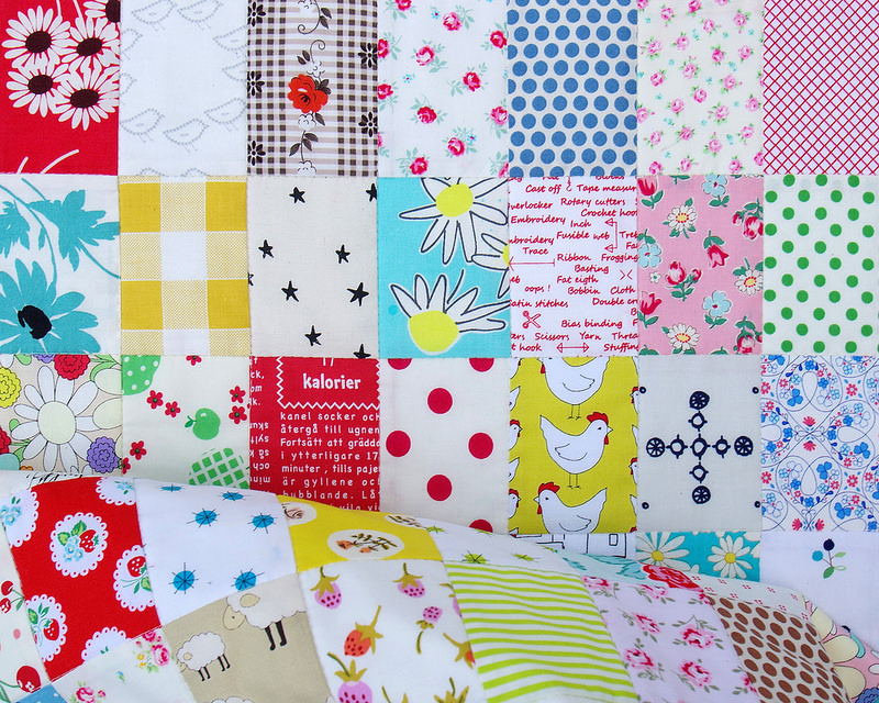 Rectangle Checkerboard Quilt   © Red Pepper Quilts 2016