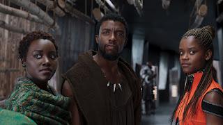 Black Panther - Lupita Nyong'o, Chadwick Boseman, Danai Gurira
