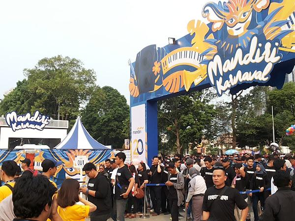 Bertualang menjelajah Mandiri Karnival 2018