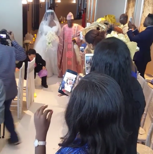 View of Tolu AKA Toolz & Tunde Demuren marriage pictures,5