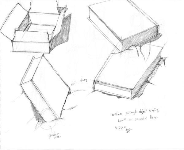 Random marks: April Drawing, 17-23