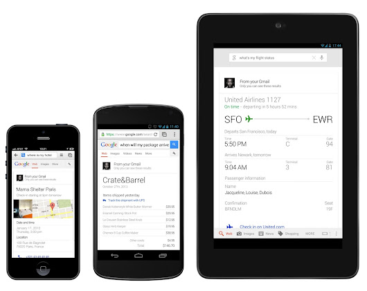 Just ask Google for your flights, reservations, package delivery info and more