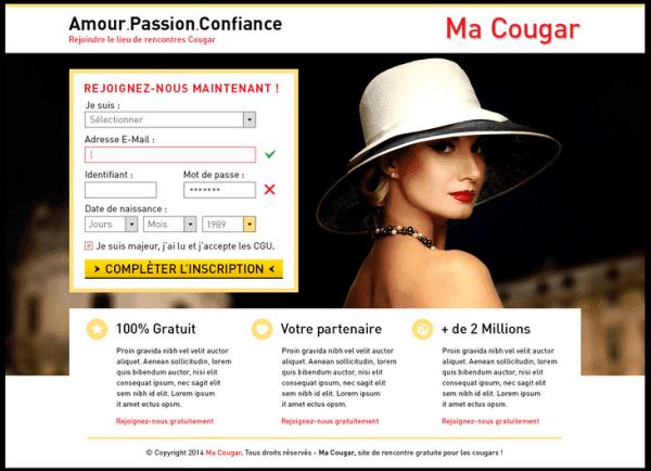 site de rencontre cougar test