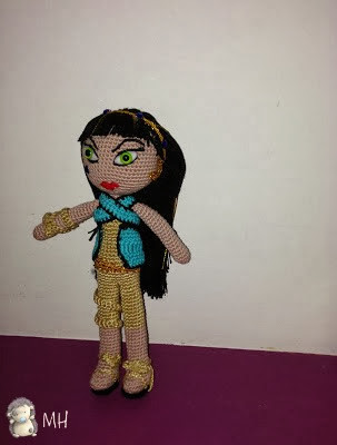 Monster High amigurumi