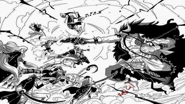 Perang Wano adalah perang terbesar di One Piece menurut Eiichiro Oda
