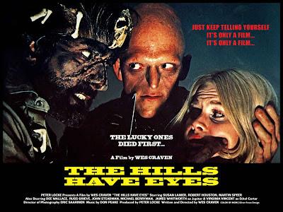 The Hills Have Eyes Original 1977 Film Poster
