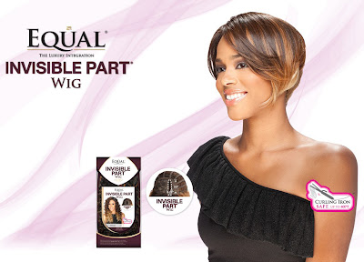 equal invisible part wig flash ebonichair