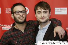 Updated: Daniel Radcliffe at Sundance - Kill Your Darlings premiere - red carpet