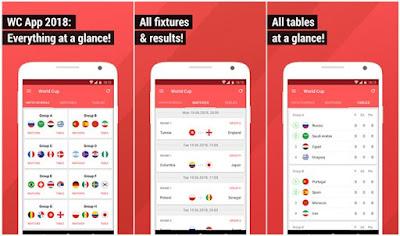 World Cup App 2018