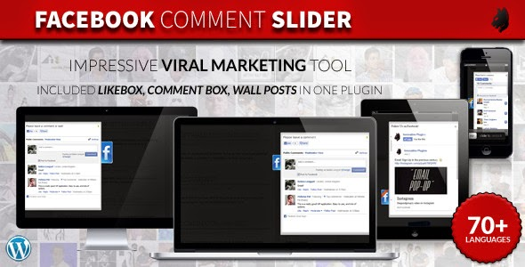 Facebook Comment Slider - WordPress Plugin