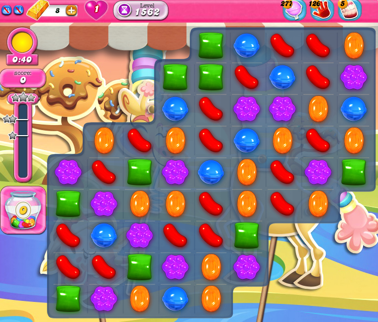 Candy Crush Saga 1562