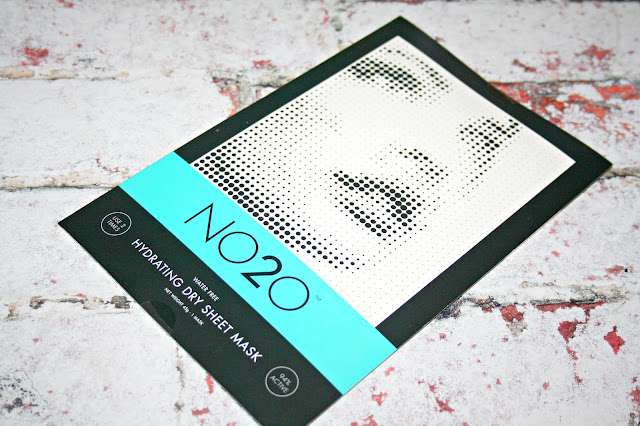 NO2O Hydrating Dry Sheet Treatment Masks