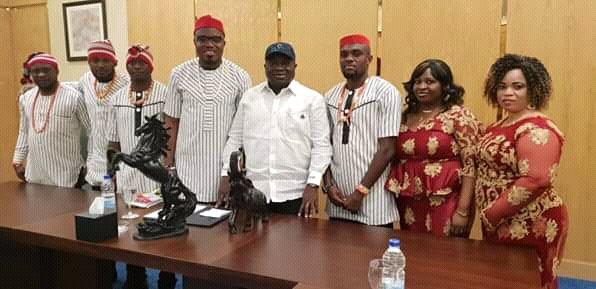THINGS ARE LOOKING BETTER AT HOME - IKPEAZU TELLS ABIANS IN EGYPT