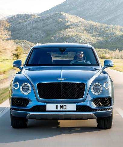 2017 Bentley Bentayga Exterior