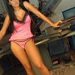 Andrea Rincon, Selena Spice Galeria 38 : Baby Doll Rosado, Tanga Rosada, Total Rosada Foto 79