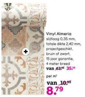 Leen Bakker's Vinyl Almeria