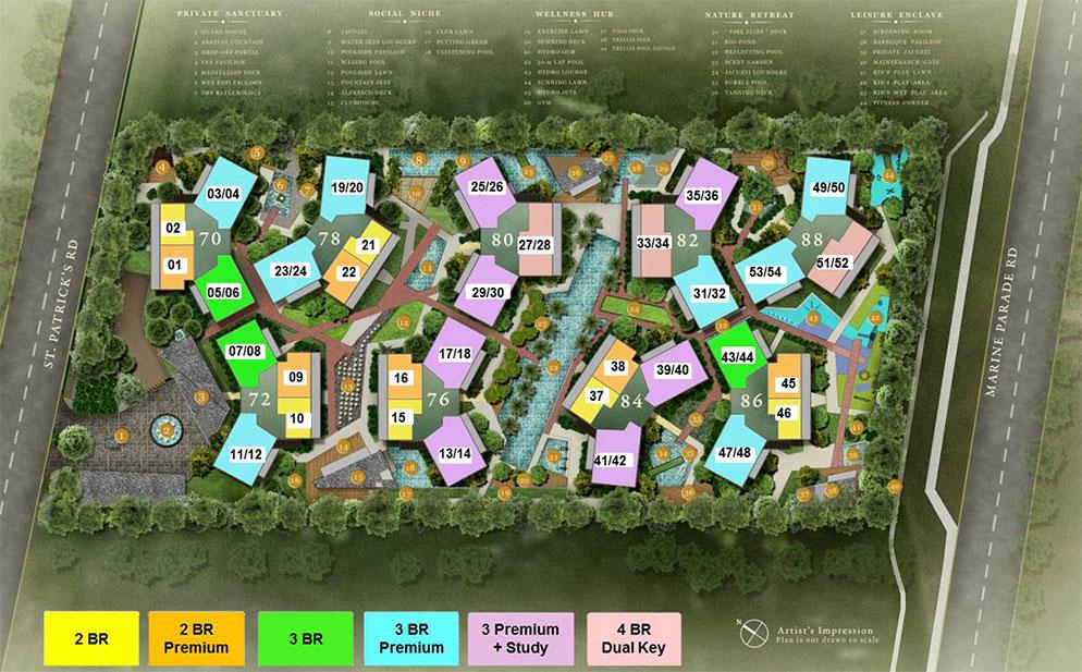 70 St Patrick's Site Plan