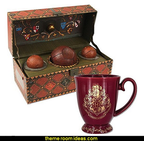 Harry Potter Collectible Quidditch Kit And Hogwarts Coffee Cup Mug
