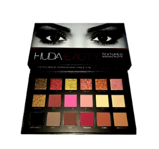 Brand New Eye Shadow Set Daily Makeup DRY HUDA BEAUTY 18 colors Palette!