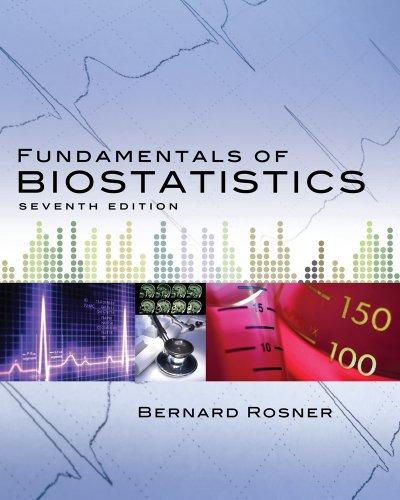 Bernard Rosner, Nguyên tắc Cơ bản của Thống kê Sinh học 7e