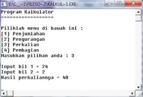 Membuat Kalkulator Sederhana Dengan C++