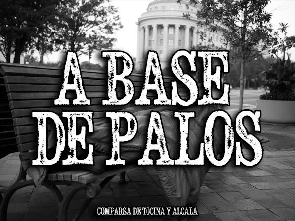 """La comparsa de Alcalá y Tocina, este pasado concurso, """"Pueblo Llano"""", serán para el carnaval 2019, """"A Base de Palos"""""""