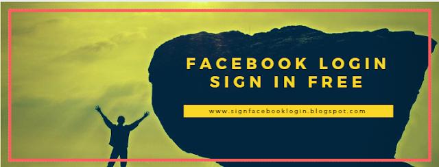 Facebook Login Sign In Free