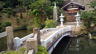 八王子の斟珠寺 弁財池