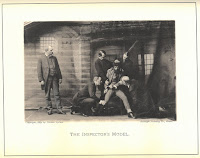 photograph entitled 'The Inspector's Model' from 'Professional Criminals of America' showing police officers torturing a suspect