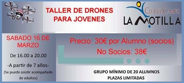 DRONES MOTILLA
