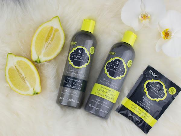 HASK // Tiefenreinigende Aktiv-Kohle Pflege fürs Haar