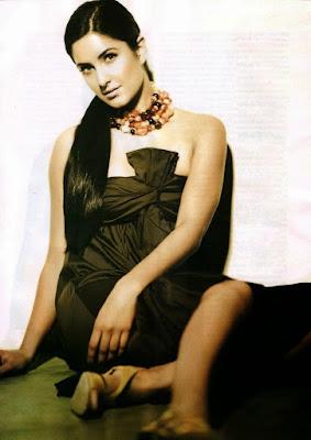 Katrina Kaif in Filmfare Magazine