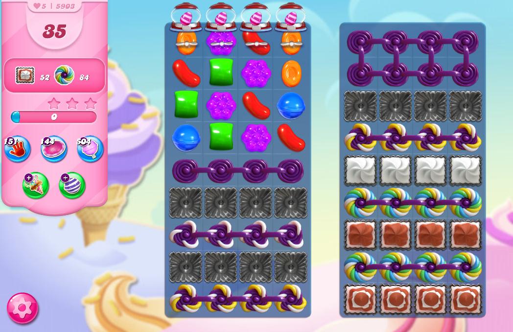 Candy Crush Saga level 5903