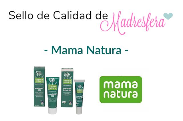 Sello de calidad de Madresfera: Mama Natura